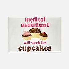 Funny Medical Assistant Rectangle Magnet