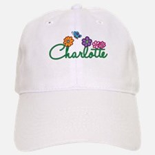 Charlotte Flowers Baseball Baseball Cap