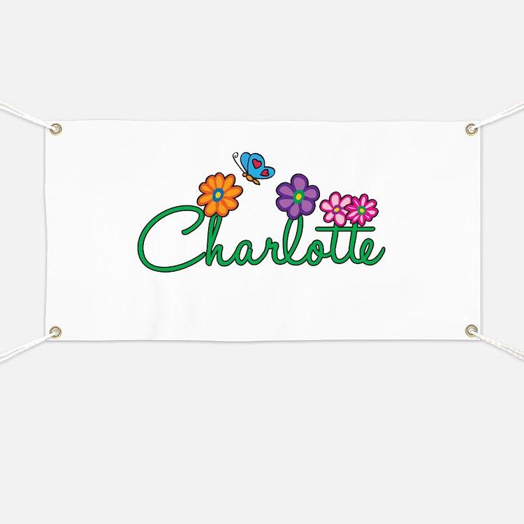 Charlotte Flowers Banner