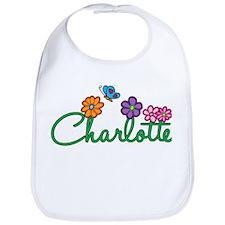 Charlotte Flowers Bib