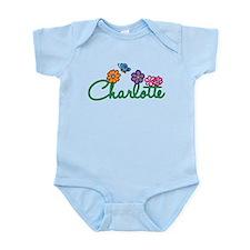 Charlotte Flowers Infant Bodysuit