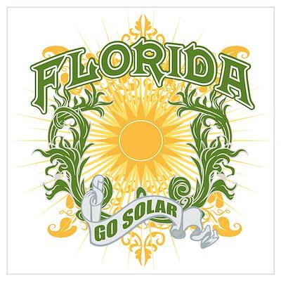 Go Solar Florida Poster
