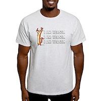 I Am Weasel Song Light T-Shirt
