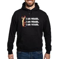 I Am Weasel Song Hoodie (dark)