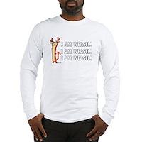 I Am Weasel Song Long Sleeve T-Shirt