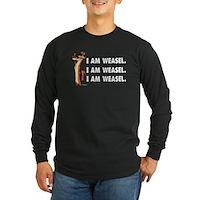 I Am Weasel Song Long Sleeve Dark T-Shirt