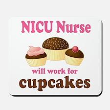Funny Nicu Nurse Mousepad