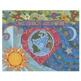 Mother earth Wrapped Canvas Art