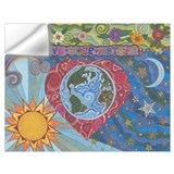 Mother earth Wall Decals
