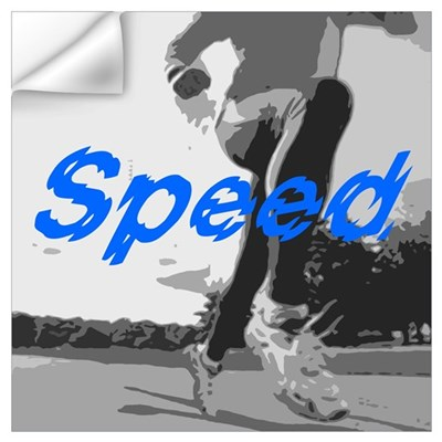 Speed Wall Decal
