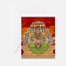 Funny Hindu goddess Greeting Cards (Pk of 20)