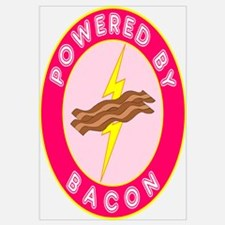 Powered By Bacon (Pink)