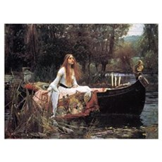 Lady of Shalott Poster