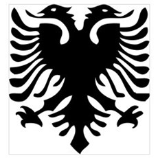Albanian Eagle Canvas Art