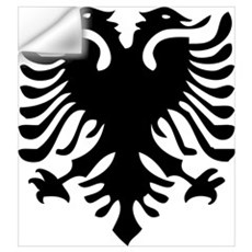 Albanian Eagle Wall Decal