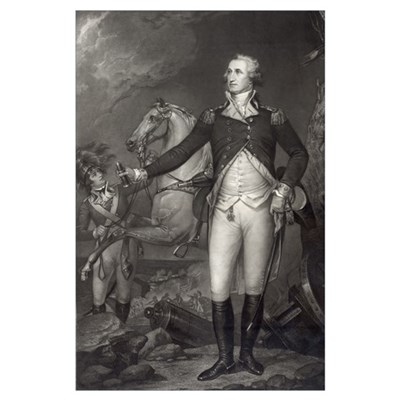 George Washington at Trenton Poster