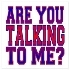 Are You Talking To Me? Poster