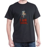 I Am Weasel Baboon Dark T-Shirt