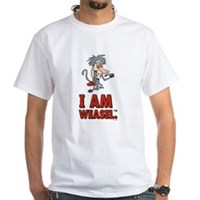 I Am Weasel Baboon White T-Shirt