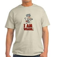 I Am Weasel Baboon Light T-Shirt