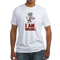 I Am Weasel Baboon Fitted T-Shirt