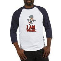I Am Weasel Baboon Baseball Jersey