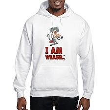 I Am Weasel Baboon Hooded Sweatshirt
