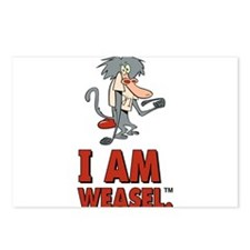 I Am Weasel Baboon Postcards (Package of 8)