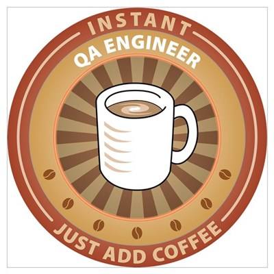 Instant QA Engineer Poster