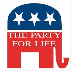 GOP Party for Life Poster