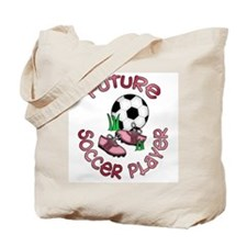 Future Soccer Player Girl Tote Bag
