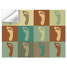Podiatry Pop Art Wall Decal