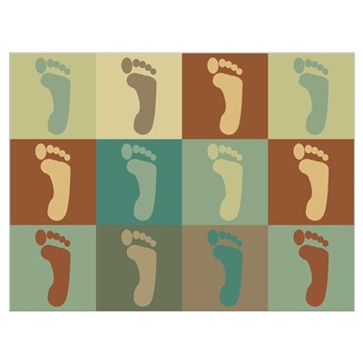 Podiatry Pop Art Canvas Art
