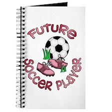 Future Soccer Player Girl Journal