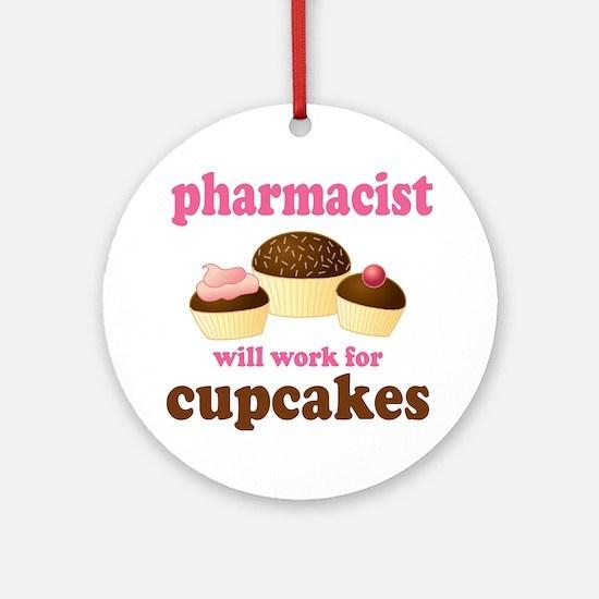 Funny Pharmacist Ornament (Round)