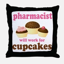 Funny Pharmacist Throw Pillow