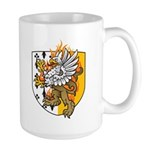 Flaming Gryphon Large Mug