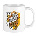 Flaming Gryphon Mug