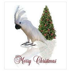 cockatoo christmas Poster