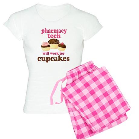Funny Pharmacy Tech Women's Light Pajamas