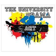 The University of Obama Art D Framed Print