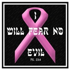 I WILL FEAR NO EVIL Framed Print