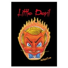 Little Devil Tattoo Poster