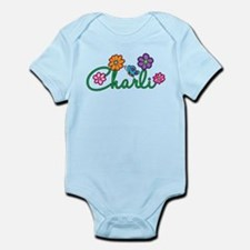 Charli Flowers Infant Bodysuit