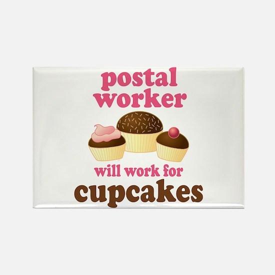 Funny Postal Worker Rectangle Magnet