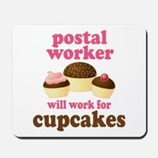 Funny Postal Worker Mousepad