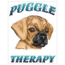 Puggle Therapy Poster