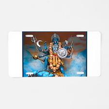 Unique Vishnu Aluminum License Plate