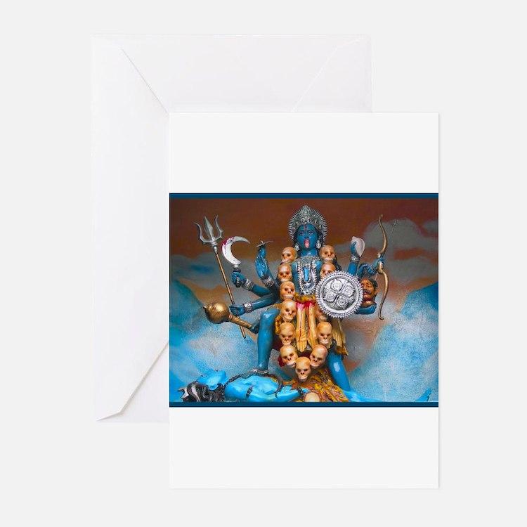 Cute Hindu goddess Greeting Cards (Pk of 20)