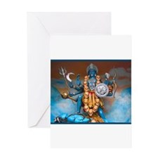 Kali Ma Greeting Cards